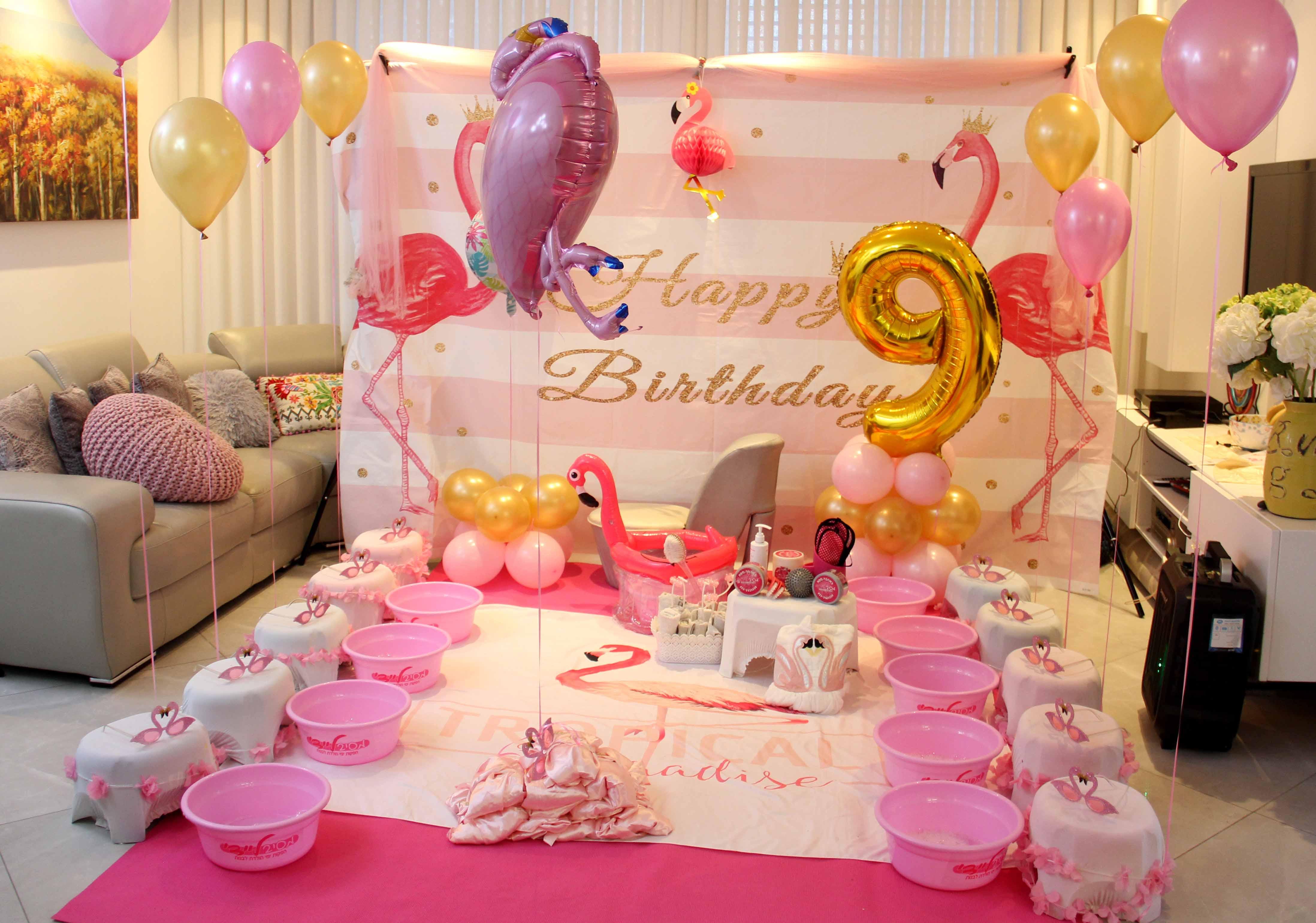 יום הולדת ספא פלמניגו לבת 9